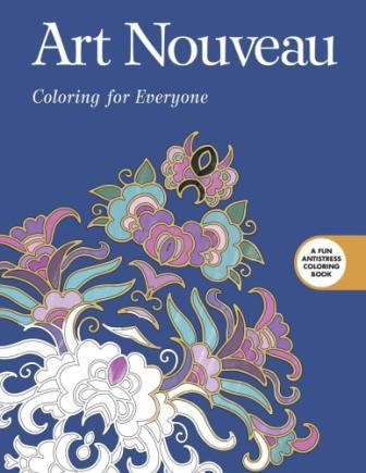 Image for Art Nouveau: Coloring for Everyone