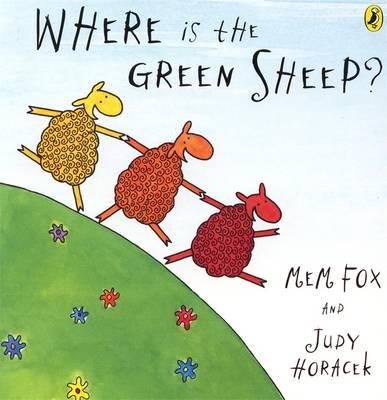 Image for Where Is The Green Sheep? Board Book