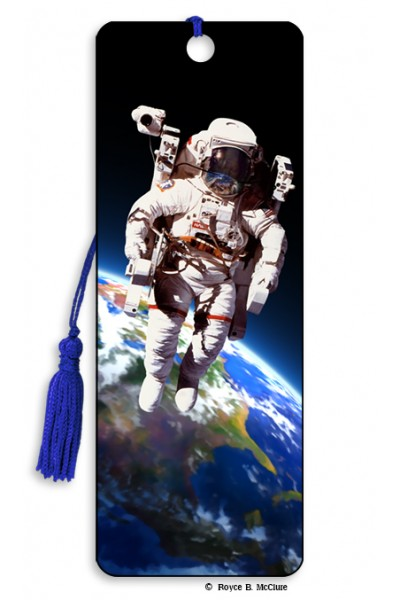 Image for Space Walk 3D Bookmark