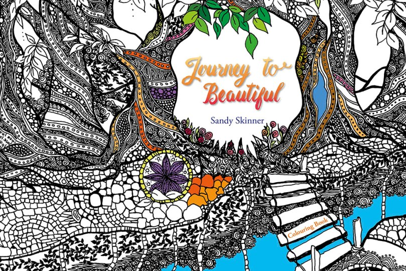 Image for Journey to Beautiful: Adult Colouring Book