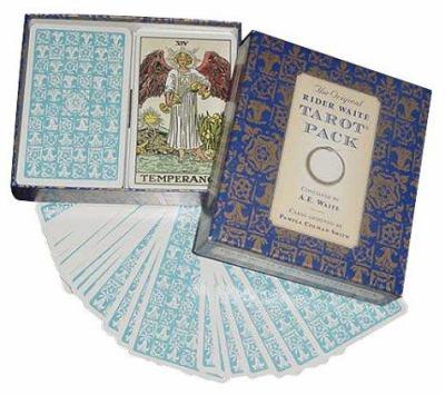 Image for The Original Rider Waite Tarot Pack : 78-card Deck + Key to the Tarot + Divinatory Chart