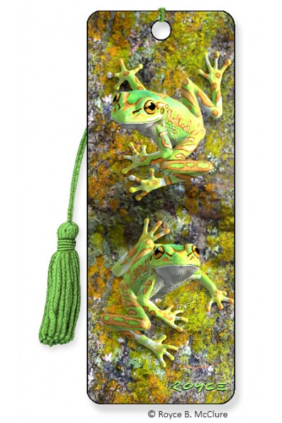Image for Bell Frogs 3D Bookmark