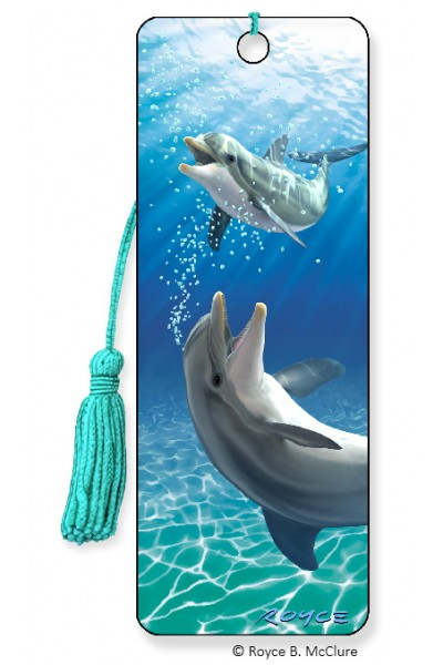 Image for Bubbles Dolphin 3D Bookmark