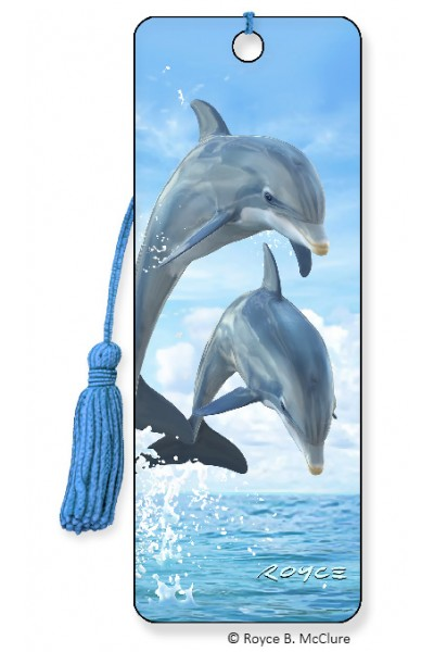 Image for Dolphin Jumper 3D Bookmark