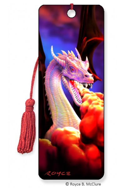 Image for Dragon Fire 3D Bookmark