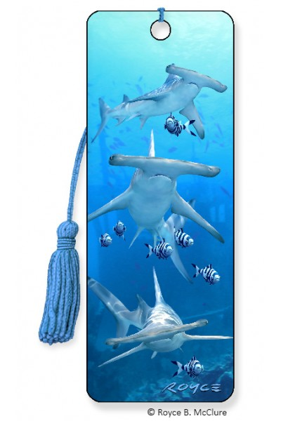 Image for Hammerheads Hammerhead Shark 3D Bookmark