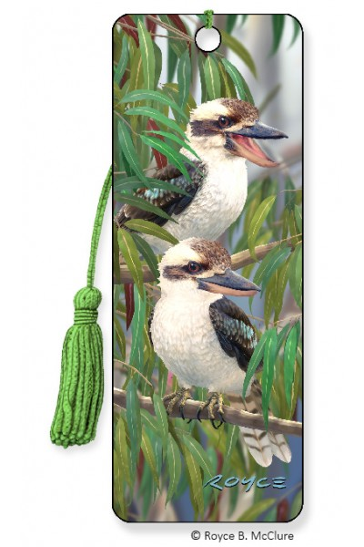 Image for Kookaburra Bird 3D Bookmark