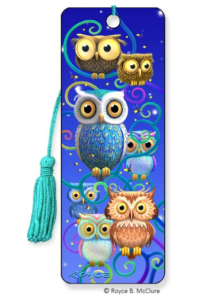 Image for Night Owls 3D Bookmark