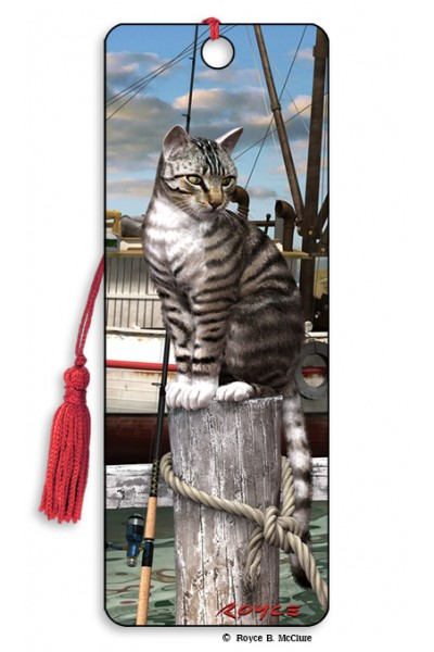 Image for Wharf Cat 3D Bookmark