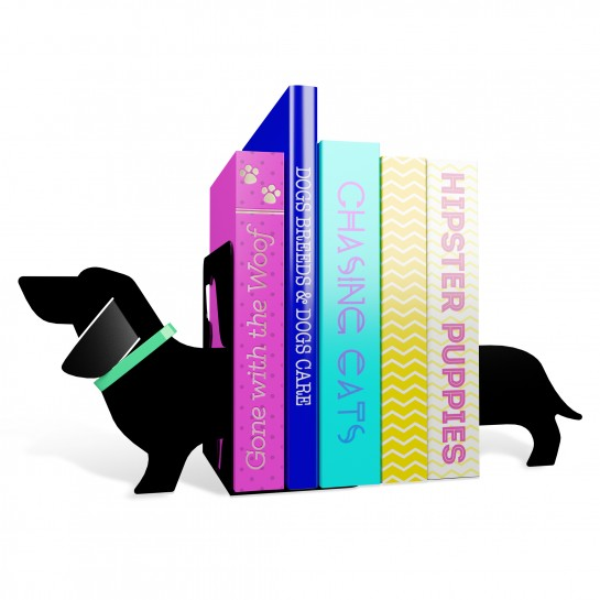 Image for Really Long Sausage Dog Bookends *** Temporarily Out of Stock ***