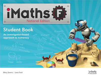 Image for iMaths F Foundation Student Book National Edition