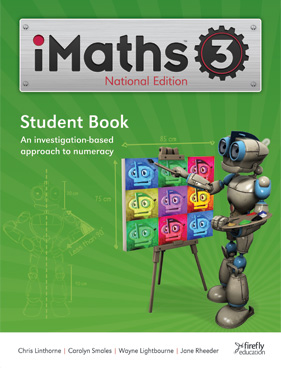 Image for iMaths 3 Student Book National Edition