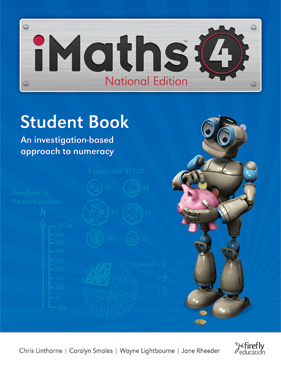 Image for iMaths 4 Student Book National Edition