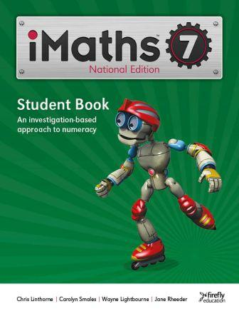 Image for iMaths 7 Student Book National Edition