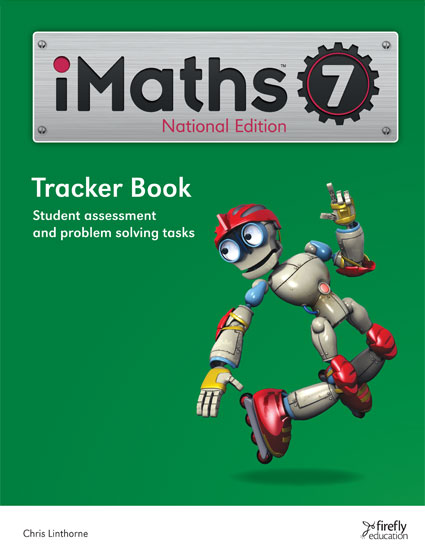Image for iMaths 7 Tracker Book National Edition