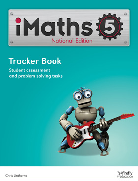 Image for iMaths 5 Tracker Book National Edition
