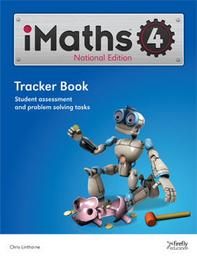 Image for iMaths 4 Tracker Book National Edition