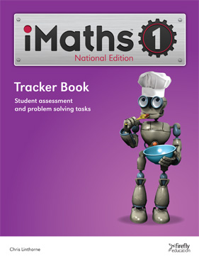Image for iMaths 1 Tracker Book National Edition