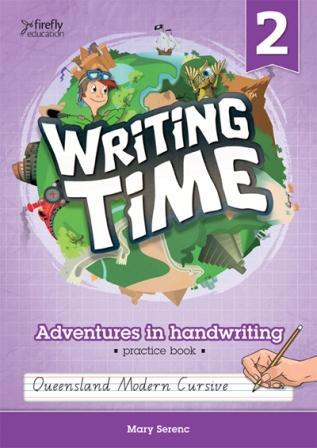 Image for Writing Time 2 (Queensland Modern Cursive) Student Practice Book