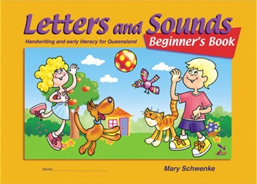 Image for Letters and Sounds Beginner's Book - Handwriting and Early Literacy for Queensland