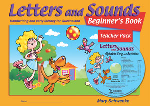 Image for Letters and Sounds CD and Beginner's Book Pack QLD - Handwriting and Early Literacy for Queensland 4th Edition
