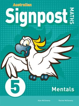 Image for Australian Signpost Maths 5 Mentals Homework Book [Third Edition] Australian Curriculum