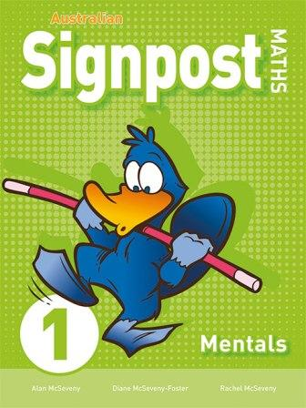 Image for Australian Signpost Maths 1 Mentals Homework Book (3e) AC Australian Curriculum