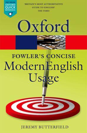 Image for Oxford Fowler's Concise Dictionary of Modern English Usage Third Edition