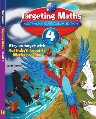 Image for Targeting Maths 4 ACE Australian Curriculum Edition Student Book