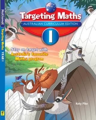Image for Targeting Maths 1 ACE Australian Curriculum Edition Student Book