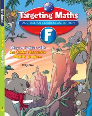 Image for Targeting Maths F ACE Australian Curriculum Edition Foundation Student Book