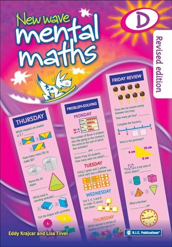 Image for New Wave Mental Maths D -  Ages 8-9 Australian Curriculum RIC-1703