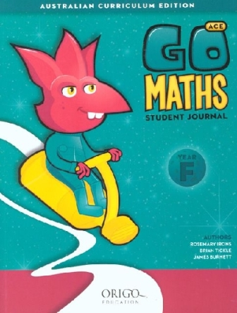Image for Go Maths Student Journal Year F Foundation : Australian Curriculum Edition