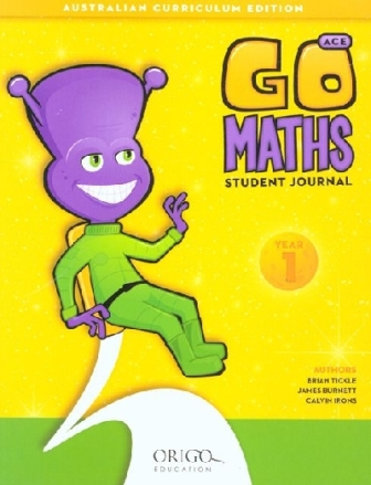 Image for Go Maths Student Journal Year 1 : Australian Curriculum Edition