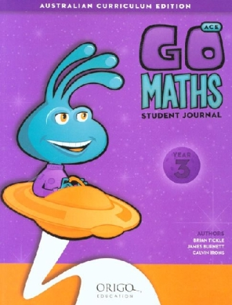 Image for Go Maths Student Journal Year 3 : Australian Curriculum Edition