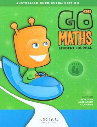Image for Go Maths Student Journal Year 4 : Australian Curriculum Edition