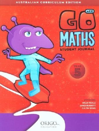 Image for Go Maths Student Journal Year 5 : Australian Curriculum Edition