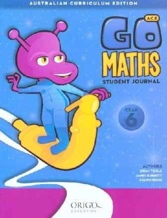 Image for Go Maths Student Journal Year 6 : Australian Curriculum Edition