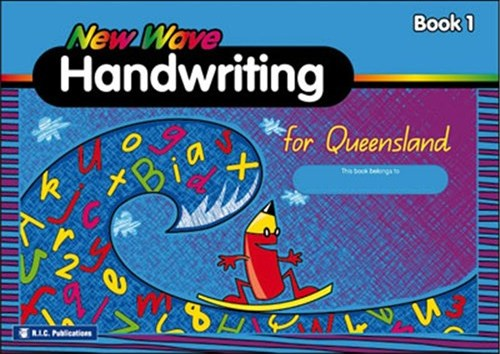 Image for New Wave Handwriting for Queensland Book 1 (Ages 5-6) RIC-1175Q