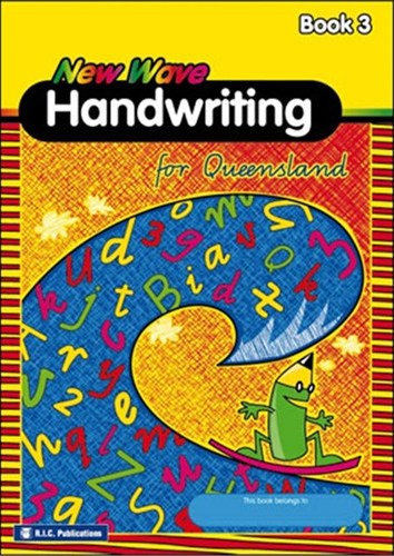 Image for New Wave Handwriting for Queensland Book 3 (Ages 7-8) QLD RIC-1177Q