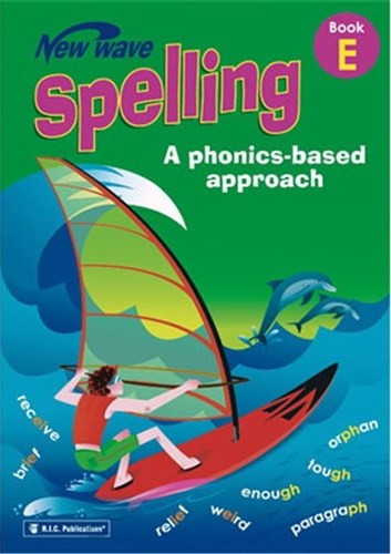 Image for New Wave Spelling Book E Student Workbook (Ages 9-10) RIC-6271