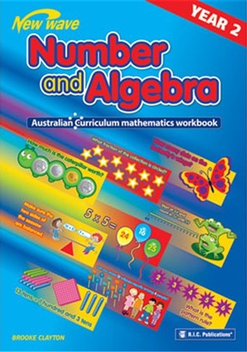 Image for New Wave Number and Algebra Year 2 Workbook (Ages 7-8) RIC-6117 Australian Curriculum