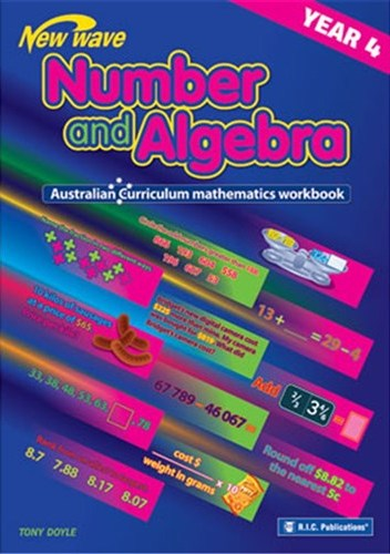 Image for New Wave Number and Algebra Year 4 Workbook (Ages 9-10) RIC-6109 Australian Curriculum
