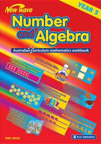 Image for New Wave Number and Algebra Year 3 Workbook (Ages 8-9) RIC-6108 Australian Curriculum