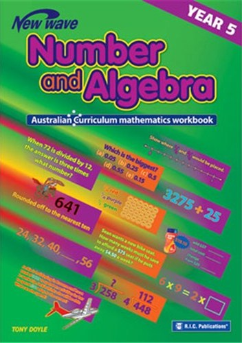 Image for New Wave Number and Algebra Year 5 Workbook (Ages 10-11) RIC-6110 Australian Curriculum