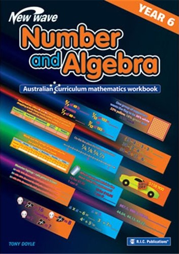 Image for New Wave Number and Algebra Year 6 Workbook (Ages 11-12) RIC-6111 Australian Curriculum