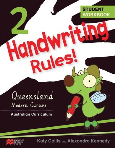 Image for Handwriting Rules! Year 2 Student Workbook AC - Queensland Beginner`s Alphabet