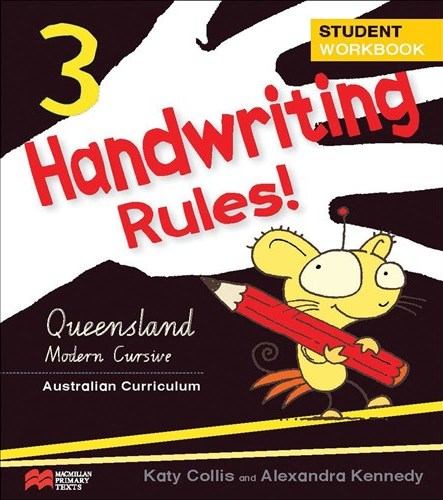Image for Handwriting Rules! Year 3 Student Workbook AC - Queensland Modern Cursive