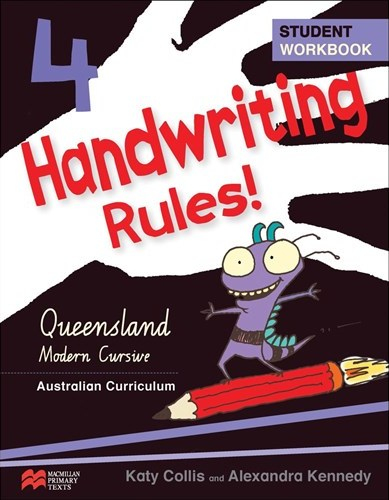 Image for Handwriting Rules! Year 4 Student Workbook AC - Queensland Modern Cursive