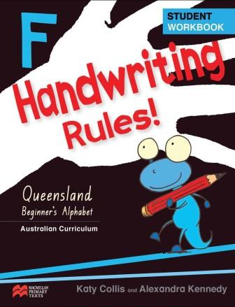 Image for Handwriting Rules! F Foundation Student Workbook : Queensland Beginner`s Alphabet : Australian Curriculum